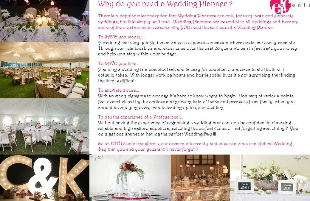 Top 10 Biggest Mistakes When Planning a Wedding