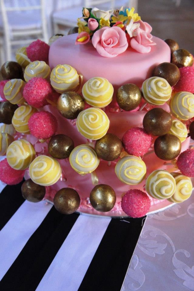 Wedding Lolly cake